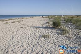 Plage des sables blancs plouharnel
